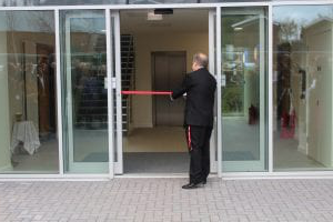 Cutting the ribbon on Cofton Hall