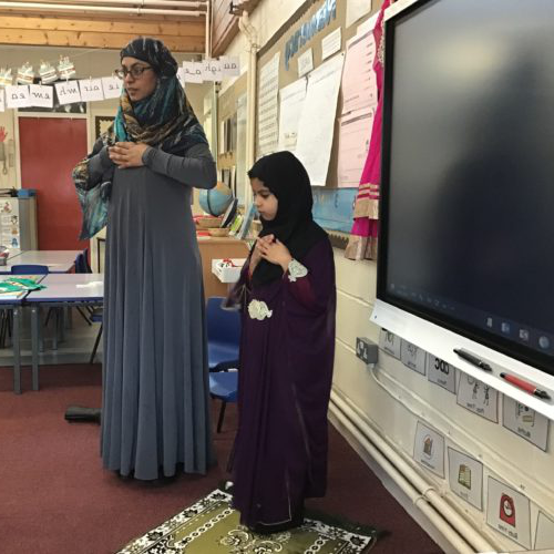 Muslim Chaplain speaks at local primary school
