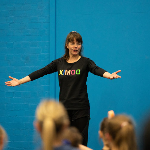 Darcey Bussell dance class at Newman University